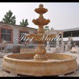 Fontana dorata del granito della sabbia per la mobilia Mf-1291 del giardino