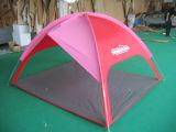 浜のテント