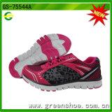 A fábrica nova respira as sapatilhas superiores das mulheres do engranzamento (GS-75544)