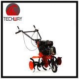6.5HP 196ccの4打撃の農業のカルチィベーター小型ガソリン力の回転式耕うん機