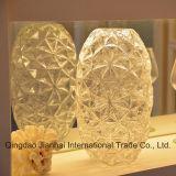 Стеклоизделие ромбовидного узора высокого качества декоративное