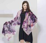 2017 wasserlöslicher Wolle-Frauen-Schal von Shanghai