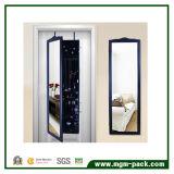 Armário de armazenamento suspenso de parede com espelho de limpeza