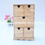 Fancy Painted Customized Caixa de jóias em madeira feita de MDF