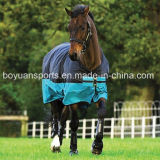 Couverture lourde de cheval de l'hiver de sellerie de polyester de mode