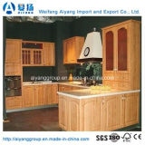 Armário de cozinha de melamina preço de fábrica