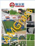Grama artificial da alta qualidade para o campo de futebol