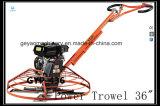 Eficiente elevado! '' caminhada 36 atrás do Trowel concreto Gyp-436 da potência com o motor de gasolina de Honda Gx160