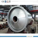 Máquina de pneus de pirólise Converter pneu em carbono e óleo