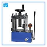 Prensa hidráulica elétrica de laboratório manual 60t