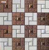 Cor de cobre mosaico mosaico cerâmico