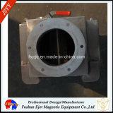 Hierro magnético permanente del canal inclinado/separador de acero