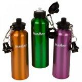Алюминиевая бутылка воды спорта с изготовленный на заказ конструкцией логоса
