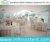 15m de vão livre de lona transparente romântica decoração de casamento festa tenda