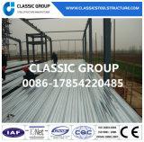 Almacén/taller prefabricados metalúrgicos modulares de la estructura del marco de acero
