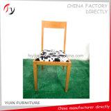Voltar a médio confortável restaurante Imitação de madeira Cadeira de ferro (FC-160)