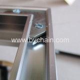 Cadre en verre en aluminium