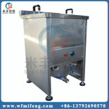 Pollo che frigge la friggitrice delle patate fritte utilizzata ristorante alimenti a rapida preparazione/della macchina