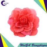 Flor decorativa del arte de los accesorios de vestir con un Pin