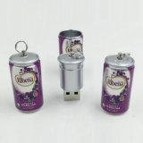 Flash del USB del mecanismo impulsor/del metal del USB del estaño del coque
