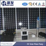 Bomba de água solar submergível do poço profundo da C.C. 72V da alta qualidade para a agricultura
