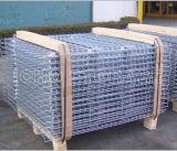 Um deck de malha de arame galvanizado personalizada para armazenamento de armazenagem de paletes de paletes