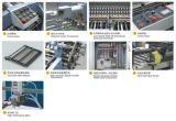 Kombinations-faltende Maschine mit elektrisches Steuermesser (660)