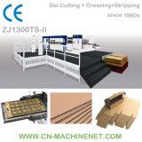 Fabricante cortando Flatbed da máquina da folha de papel automática de Zj1300ts-II