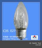 Energia-risparmio C35 Halogen Bulb con CE, RoHS Approved di Eco