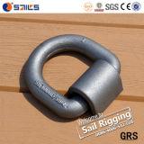 De Gestampte staal-Gemaakte D-vormige ring van uitstekende kwaliteit