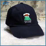 Fördernde Stickerei Sports Baseballmütze-Hysteresen-Hut-Golf-Schutzkappe