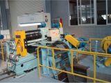 Small Gauge Sheet를 위한 자동적인 Steel Coil Slitting Line Machine