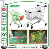 Grande carrello del carrello di acquisto del supermercato del volume di stile asiatico