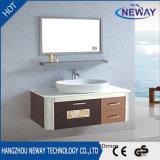 Governi d'acciaio del dispersore della stanza da bagno di alta qualità con il bacino di ceramica