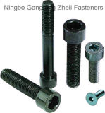 Hexagon Socket Head Cap Bolt LÄRM 912 mit Black/Zp