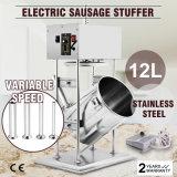 Générateur vertical électrique commercial de viande de Stuffer de remplissage de la saucisse 12L