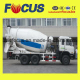 Mezclador concreto profesional del carro del chasis 8m3 de Steyr con el consumo de petróleo inferior
