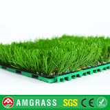 Precios artificiales baratos de la hierba del fútbol durable excelente con precio feliz