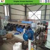 HDPE-PET Wasserversorgung leitet wärmeisolierende Shell-Strangpresßling-Zeile 110-315mm