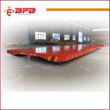 Bassa tensione motorizzata trattando automobile per l'officina siderurgica sulle rotaie