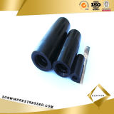 Steel Thread Rebar Coupler para PC