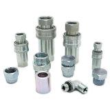 En acier inoxydable de raccord de flexible hydraulique pneumatique raccord rapide hydraulique en usine