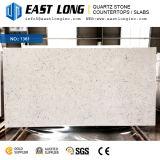 Brames de marbre personnalisées de pierre de quartz de couleur d'Aartificial pour des partie supérieure du comptoir/panneaux de mur/dessus de vanité