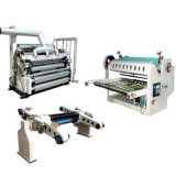 Производственная линия Paperboard одиночной стороны Corrugated и машина коробки