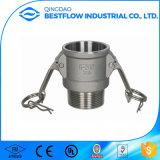 Accoppiamento rapido del tubo flessibile di alluminio del Camlock