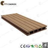 Decking plástico de madeira impermeável ao ar livre