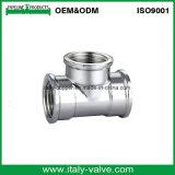 Accessorio per tubi del T dell'uguale dell'ottone di qualità dell'Europa (AV-BV-7019)