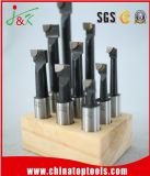 5/8 12PCS / Set Wooden Stand Carbide Tipped Boring Bars