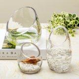 Vaso trasparente all'ingrosso di /Flower del vaso di cristallo