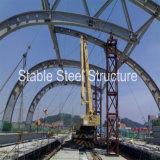 Tetto della struttura del fascio del tubo d'acciaio per la stazione ferroviaria
